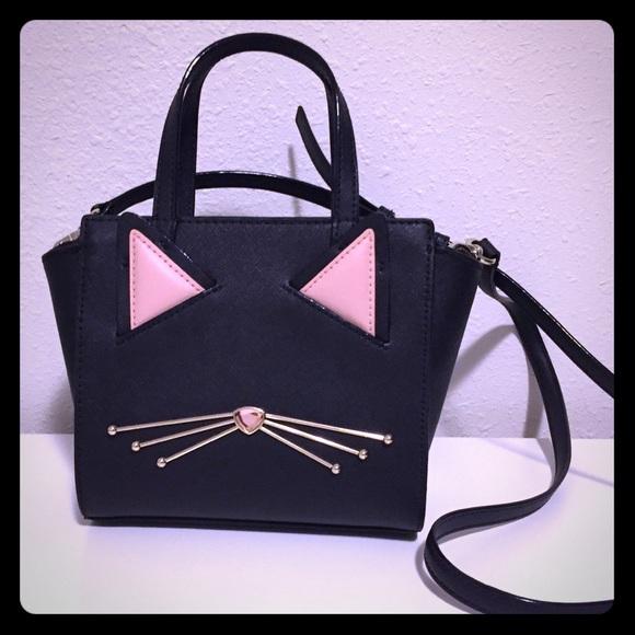 kate spade Handbags - New kate spade cat jazz things up Hayden purse